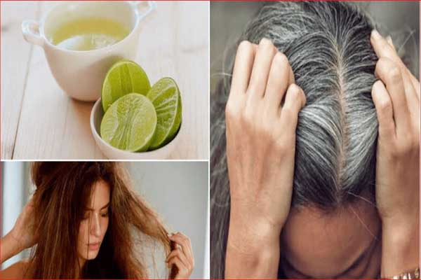 Coconut Oil And Lemon For Grey Hair