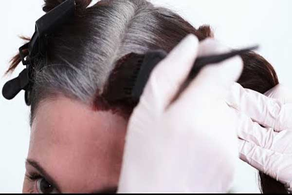 How to Colour Resistant Grey Hair At Home Easily