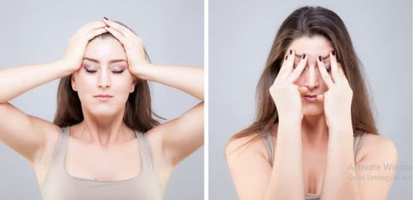 How to tighten face skin with exercise-Glowing skin
