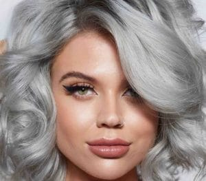Removing hair color to go grey